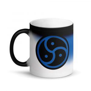Blue BDSM Mug
