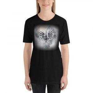 heart ribcage unisex t-shirt