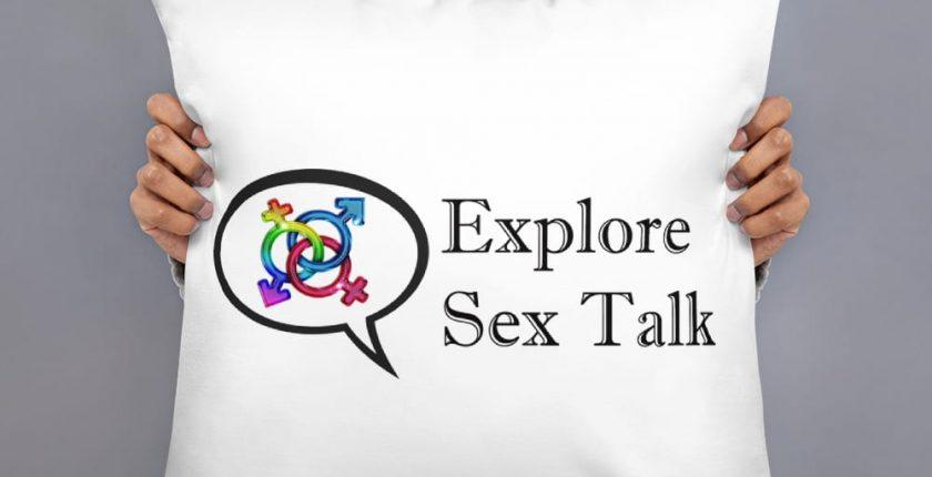explore sex talk pillow