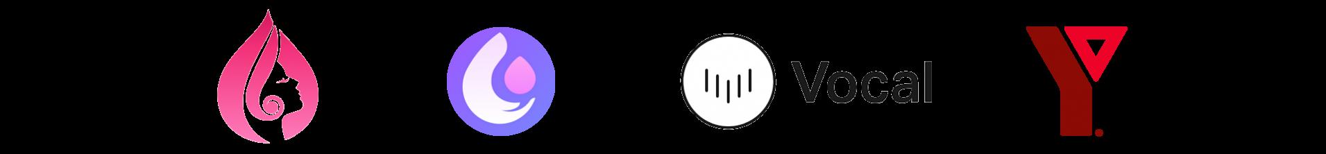 logos of publishing partners